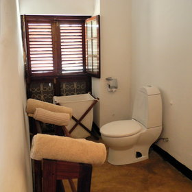 ...an en-suite bathroom with a walk-in shower...