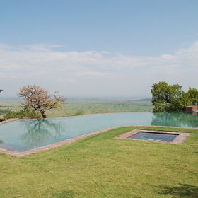 Sasakwa Lodge, in the Grumeti Reserve, is one of the top lodges in the Serengeti.