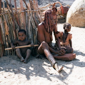 ...meet the Himba community at Purros Camp...