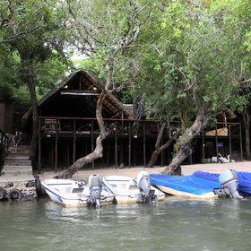 This owner run lodge, sitauted on the banks of the Chobe River, is an ideal place to relax.