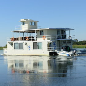 The Chobe Princess houseboats are a fantastic way to explore the Chobe and Zambezi Rivers.