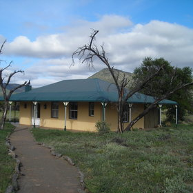 ...and outside are three Karoo Suites built in the style of a traditional Karoo cottage.