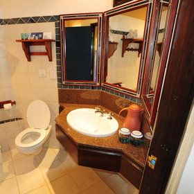 All rooms have an en-suite bathroom with a basin, a flushing toilet...