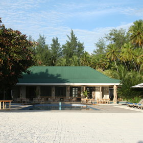 Desroches Island Resort is a colonial-style retreat...