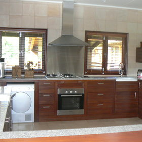 ...with a modern, spacious and well-equipped kitchen.