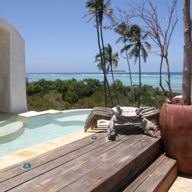 ...or enjoying a dip in the cooling pool.