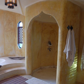 … or cool off in the shower.
