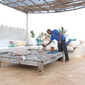 …has a personal butler to ensure you don't miss anything during your stay.