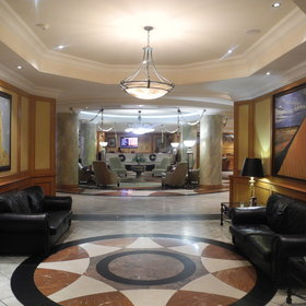 The Kalahari Sands Hotel is a luxurious hotel offering great service.