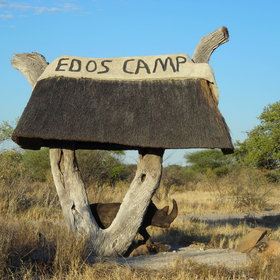 It's situated in a 1,200km2 game conservancy.