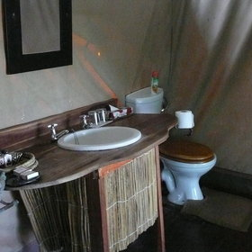 ..and has an enuite bathroom with shower.