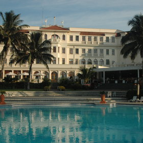 The Polana Serena Hotel is one of Africa's classic old colonial hotels in Maputo.
