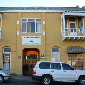 Haus Sandrose is a characterful guesthouse in Luderitz centrally located ....