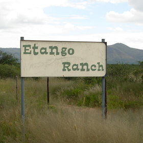 Etango Ranch Guest Farm is situated outside of Windhoek....
