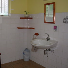 ...and offers shared bathroom options...