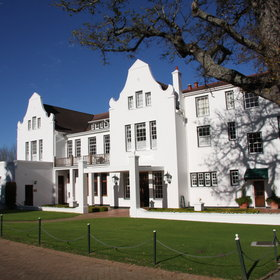 The Cellars-Hohenort Hotel is set in the heart of Cape Town's Constantia Valley.