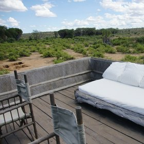 The double at the end makes an ideal honeymoon suite, and has a peaceful upper viewing deck.