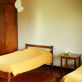 There is no disguising the basic comforts on offer, however, with simple beds and mosquito nets…