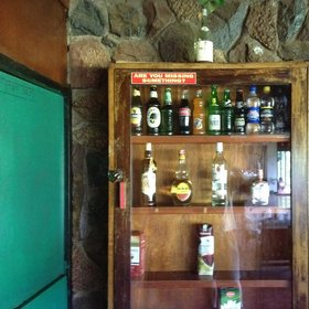 …but they do ensure that the bar is stocked to reasonable levels.