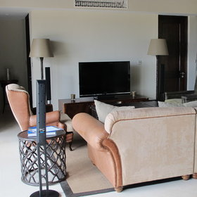....or a sizeable lounge area in the Terrace Suites and Villas.