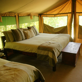 The family tents are spacious and all the tents are comfortably furnished in a homely style…