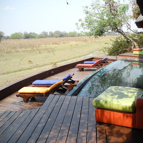 Lion camp is isolated in a game-rich area of the South Luangwa.