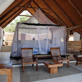 All the beds come with mosquito nets to ensure that you have a relaxing sleep.