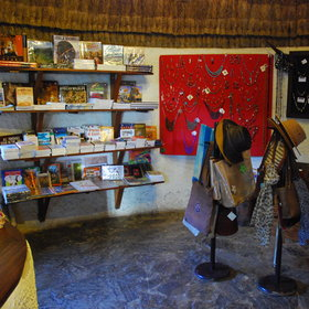 Governors' Camp also has a small shop - adding more of a lodge feel than other camps.