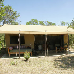 Encounter Mara's tents are large, solid and comfortable…