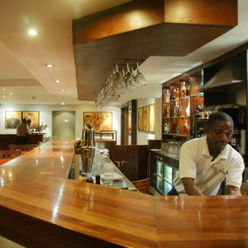 The Ole-Sereni is a design-led hotel and the closest to Nairobi's International Airport.
