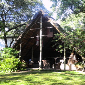 Pioneer Camp is located on the edge of Lusaka, Zambia's capital.
