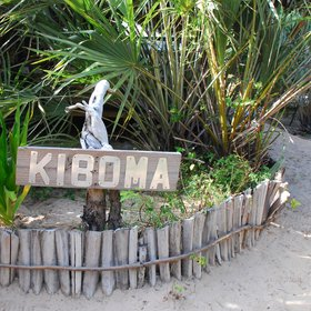 …while the other deluxe cottage, Kiboma…