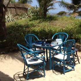 One room, Alq'amr, has its own, somewhat private, sandy patio area, close to the beach.