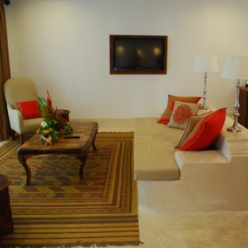 Otherwise, the main thing that distinguishes the suites is the separate lounge area.