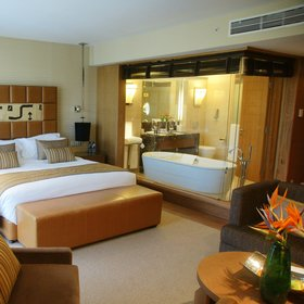 The Superior rooms have exceptionally comfortable beds…
