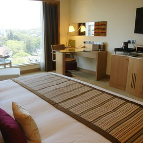 The slightly larger Deluxe rooms…