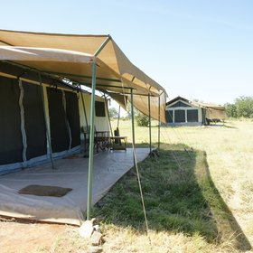 All the guest tents are large and well-spaced, either close to the river in the open…