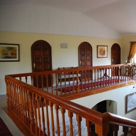 Hogmead has six rooms in the main house, with two on the ground floor, and four upstairs.