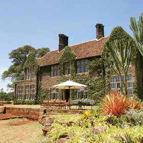 The main house was built in the 1930s after the style of a Scottish hunting lodge.