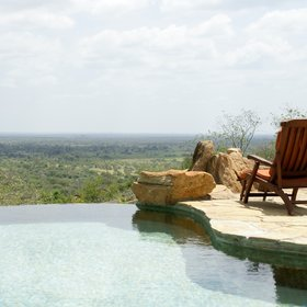 The infinity pool is no exception....
