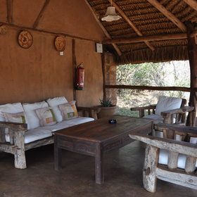 While not on safari - you can lounge and relax...