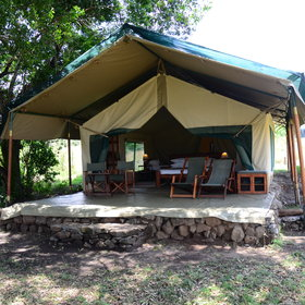Kicheche Mara is a lovely tented camp in the Mara North Conservancy.
