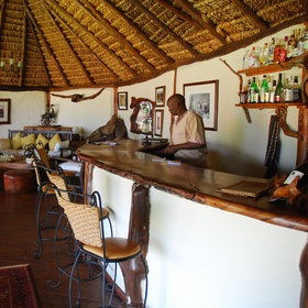 The bar is always manned by friendly staff, happy to prepare drinks of your choosing.