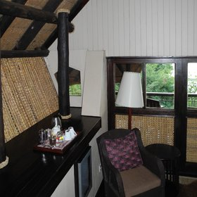 The rooms are well appointed with a mini-bar and tea and coffee station in each