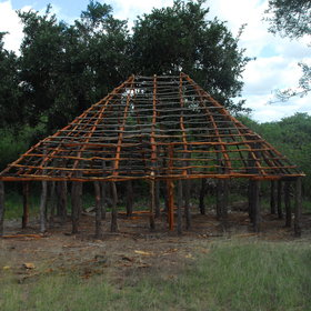 A local arts & crafts centre is being built by Chilo to showcase local Shangaan culture...