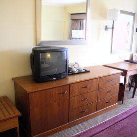 All rooms have air-conditioning and a TV.