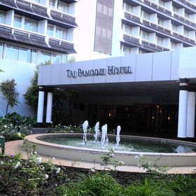 The Taj Pamodzi is in the heart of Lusaka, in Ridgeway, the home of many embassies.