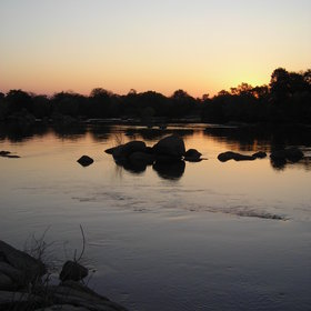 Then end each day with an amazing sunset over the Kafue.