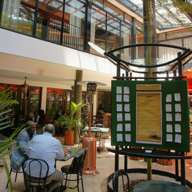 The Stanley's Thorn Tree Café was Nairobi's essential notice board until the 1990s.