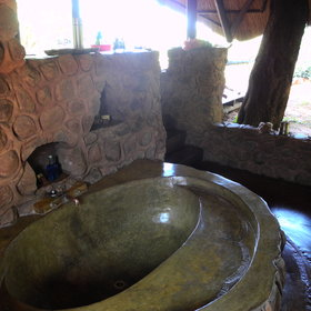 … and a bath-tub.